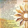 Corpus Christi dia 15 de Junho!!