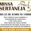 Missa Sertaneja, participe!