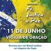 Movimento propõe vigília de oração na véspera da Copa do Mundo