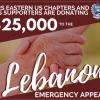 O Papa Francisco envia ajuda ao Líbano